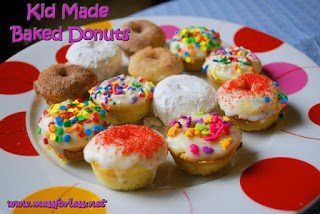 toddler recipes donuts