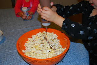 toddler recipes birthday cake popcorn