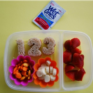 1st Day of School Lunch