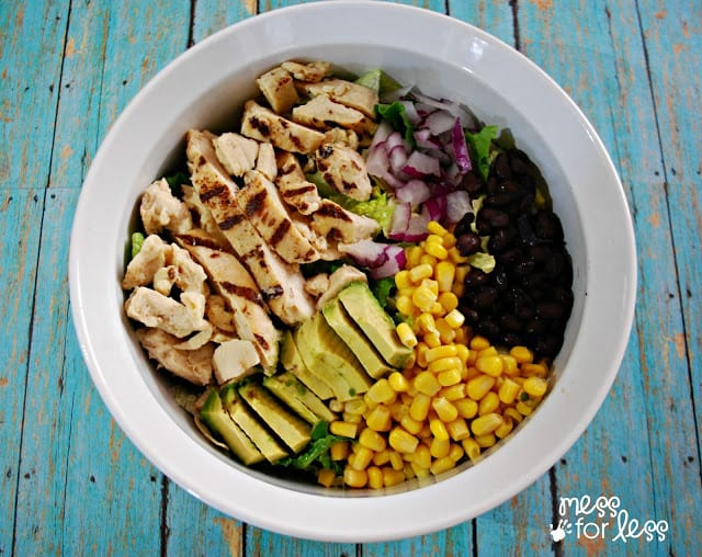 Loving this Southwestern Chicken Salad Recipe! ReadySetChicken AD