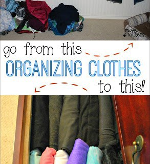 Clothing Organization Tips