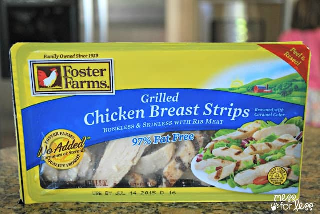 Foster Farms Grilled Chicken Strips ReadySetChicken AD