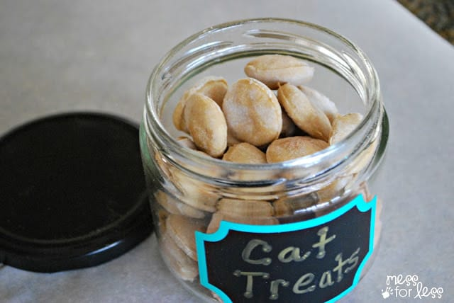 homemade cat treats recipe - the best one I've tried!