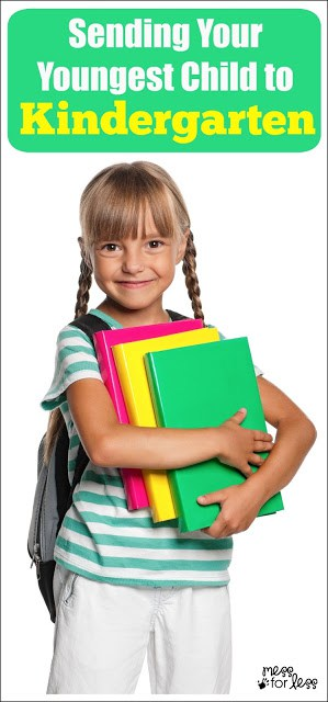 Sending Your Youngest Child to Kindergarten - Is your youngest or only child starting Kindergarten this year? This can be a bittersweet time for parents. Here are 5 tips to make the Kindergarten transition easier for both of you.