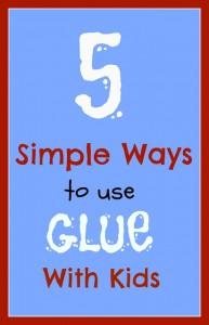 use-glue-with-kids
