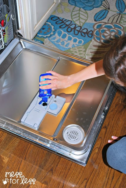 Teach Kids to Use the Dishwasher