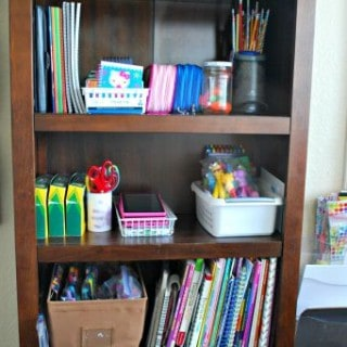Organization Tips for Kids' Art Supplies
