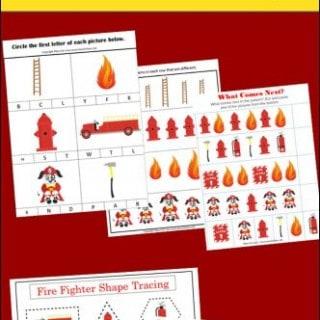 math worksheet : worksheets archives  mess for less : Firefighter Worksheets For Kindergarten