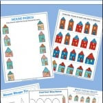 Free Preschool Worksheets – Moving and Homes