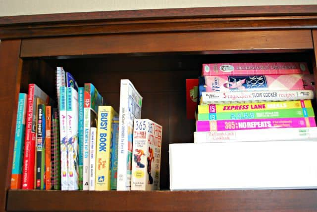 shelf organization tips