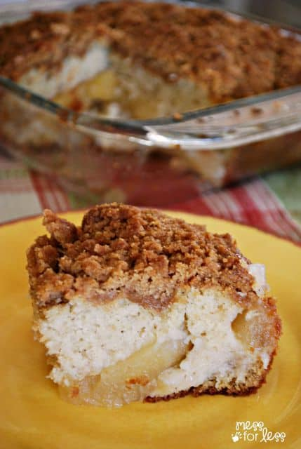 Apple Cake Recipe - Just like coffee cake with the added delciousness of apples!