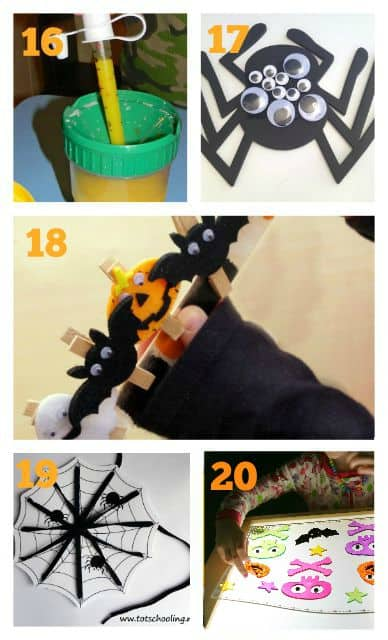 fine motor halloweeen ideas