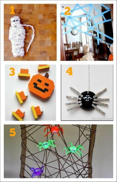 Fine Motor Halloween activities