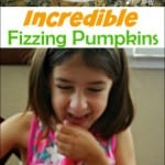 Fizzing Pumpkins Halloween Activity
