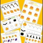 Free Kindergarten Halloween Worksheets
