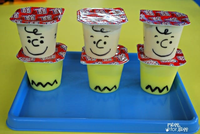 charlie brown pudding
