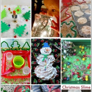 20 Christmas Sensory Activities