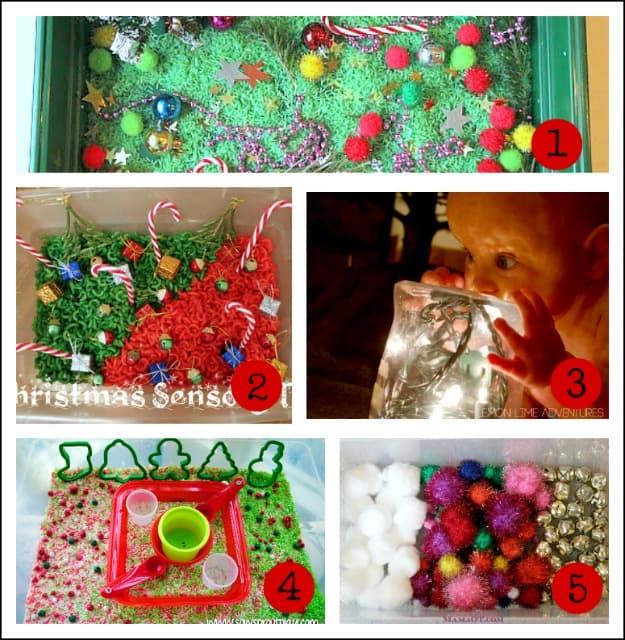 christmas sensory activities for kids