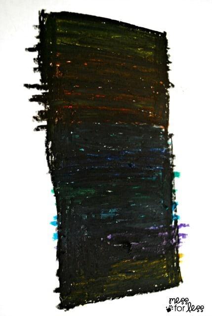 how do you make scratch art paper