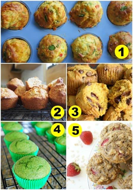 25 muffin recipes