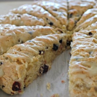 Cranberry Orange Scone Recipe