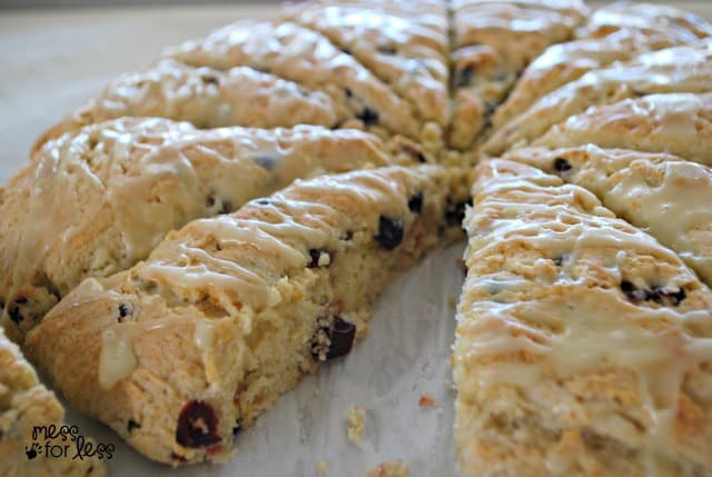recipes for cranberry orange scones