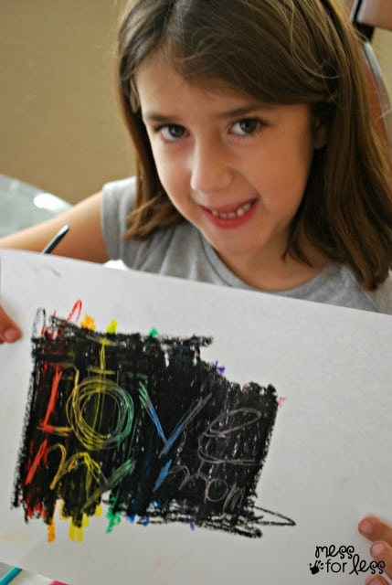 diy scratch art