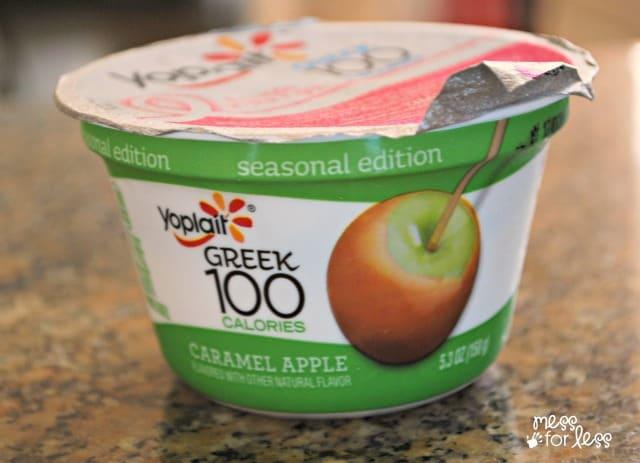 Yoplait Greek yogurt ad #SnackandSmile