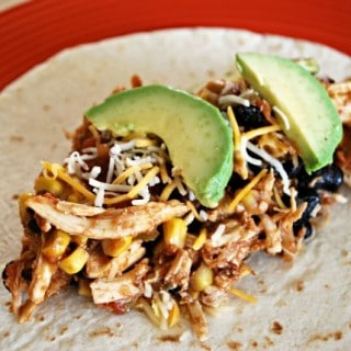 Mexican Crockpot Chicken