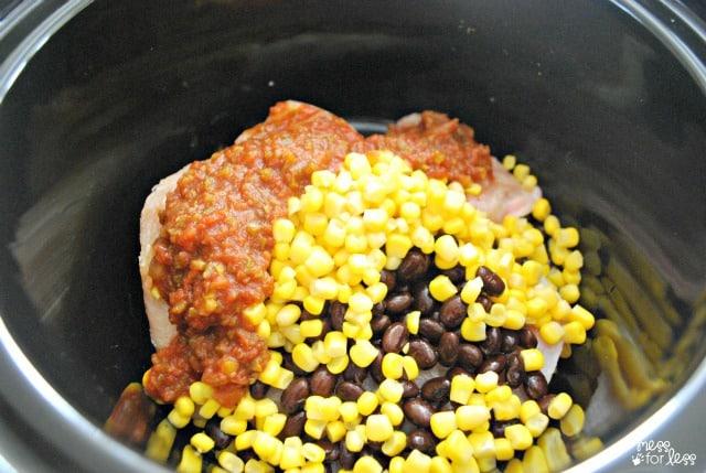 mexican crockpot chicken