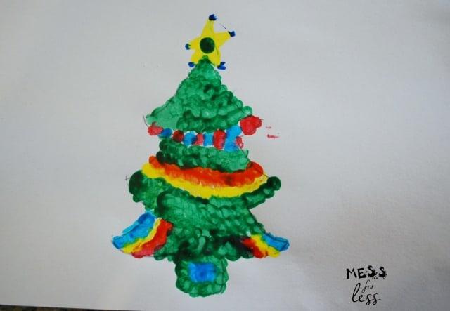 q-tip tree craft