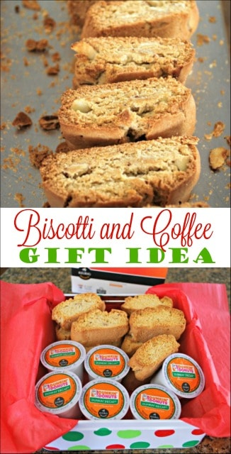 Biscotti and Coffee Gift Idea - this is such a simple and thoughtful gift to give to family and friends. #DunkinToTheRescue