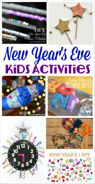 New Year S Eve Kids Activities Mess For Less