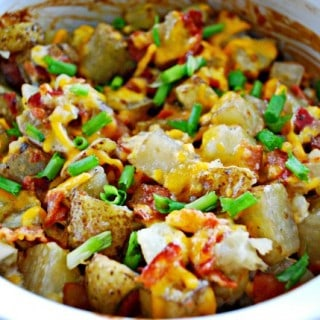 Cheesy Bacon Ranch Potatoes