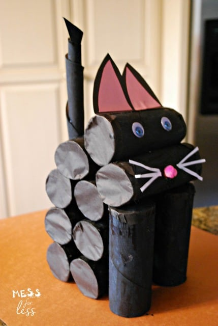 Cat crafts for kids AD