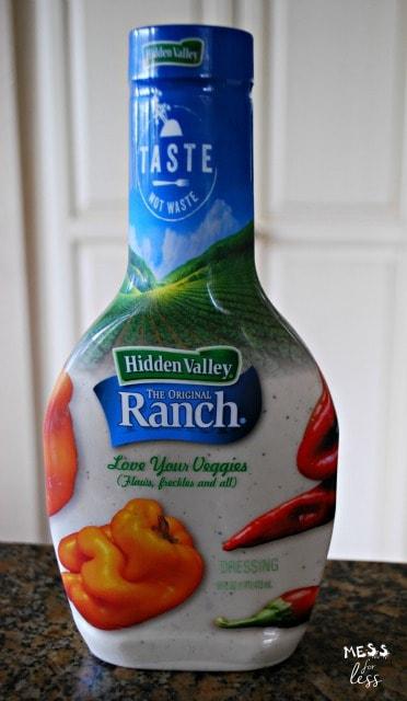 Sponsored by Hidden Valley @HVRanch TasteNotWaste