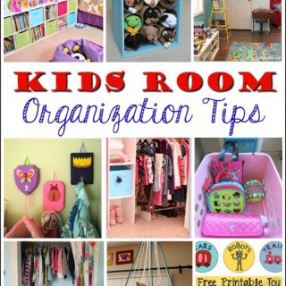 Kids' Room Organization Tips
