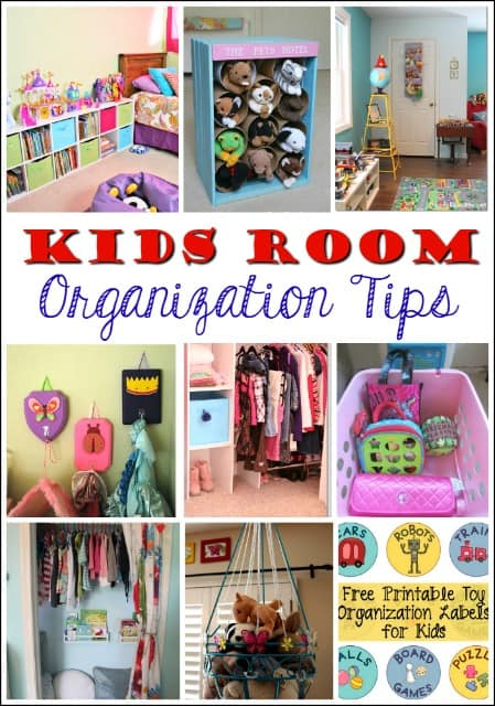 These kids' room organization tips have been a lifesaver and really helped my kids to get the clutter under control.
