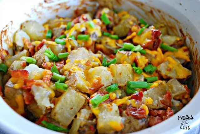 recipe for cheesy bacon potatoes