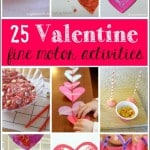 Valentine's Day Fine Motor Skills Activities for Kids