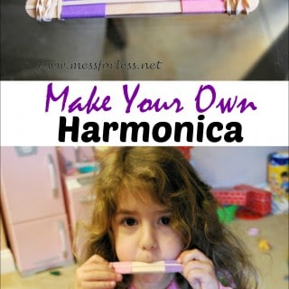 Making Music – Homemade Harmonica