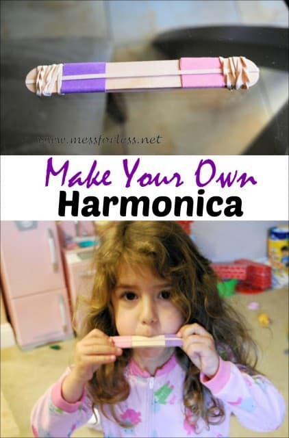 Making Music Homemade Harmonica Mess For Less