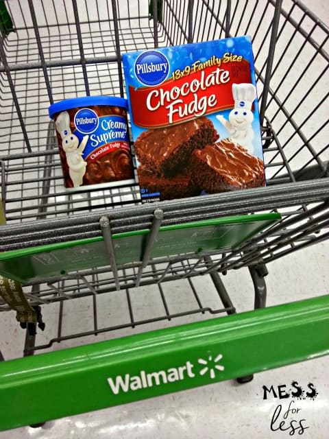pillsbury brownies from Walmart sponsored #MixUpAMoment brownie cake pops