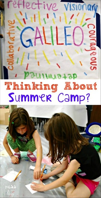 Thinking about summer camp? You won't find a more fun, engaging, discovery filled camp than those offered by Camp Galileo. sponsored