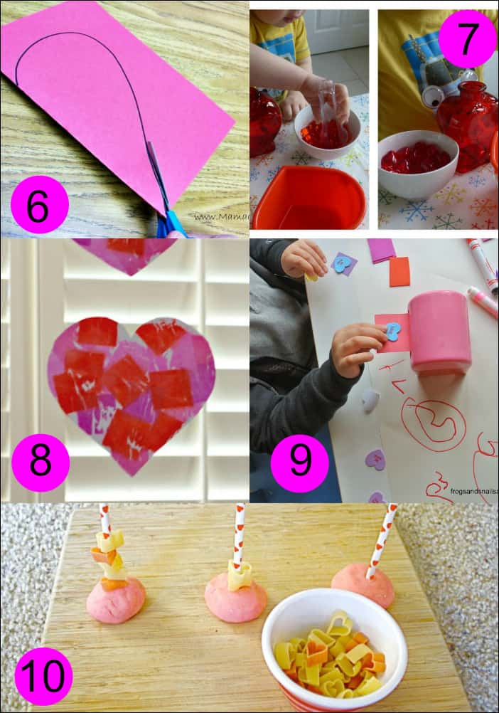 Valentine's Day Fine Motor Skills Activities for Kids - Mess for Less