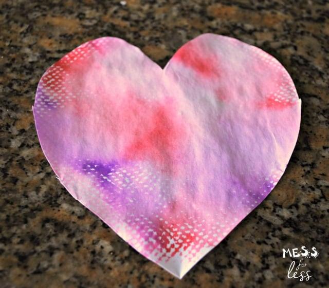 valentine hearts craft