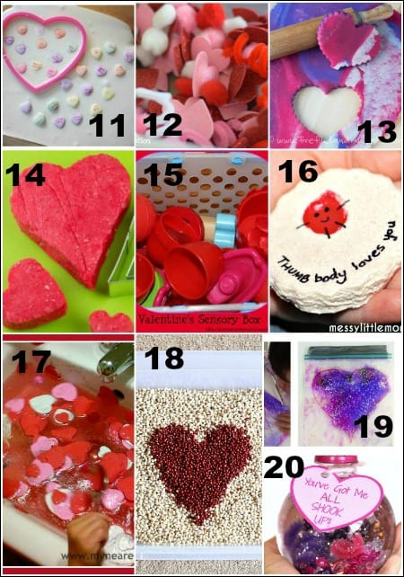 Valentines Day Sensory Activities