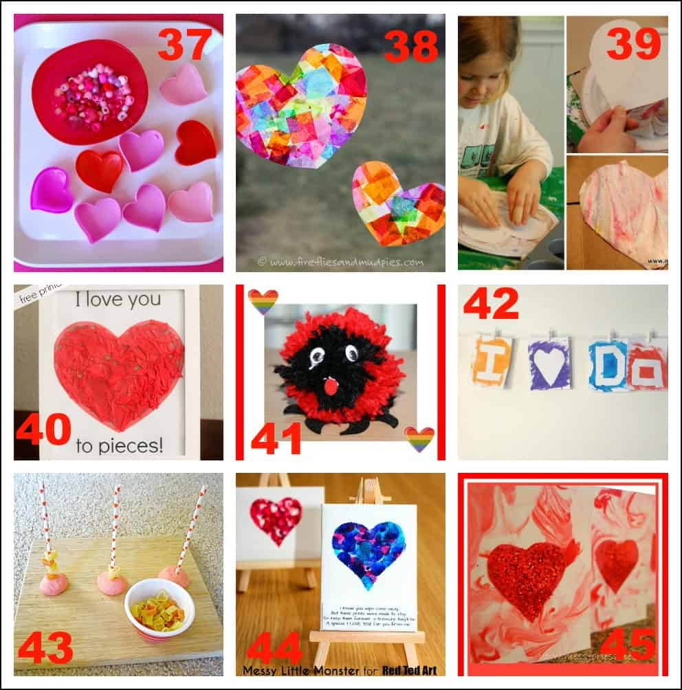 valentine's day activities for toddlers - mess for less