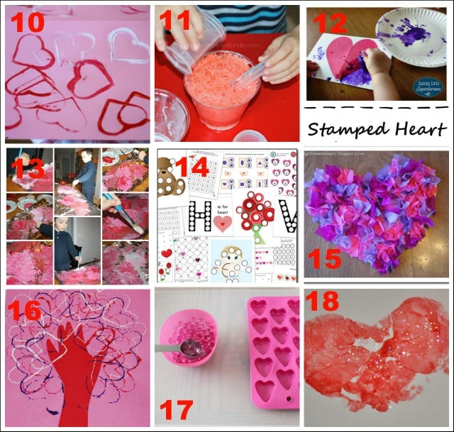 Valentine S Day Activities For Toddlers Mess For Less