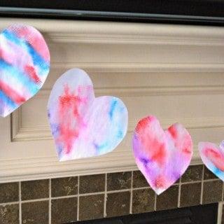 Valentine's Day Craft for Kids – Heart Banner